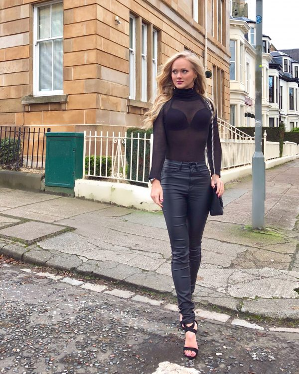 HOW TO STYLE A SHEER KNIT TOP