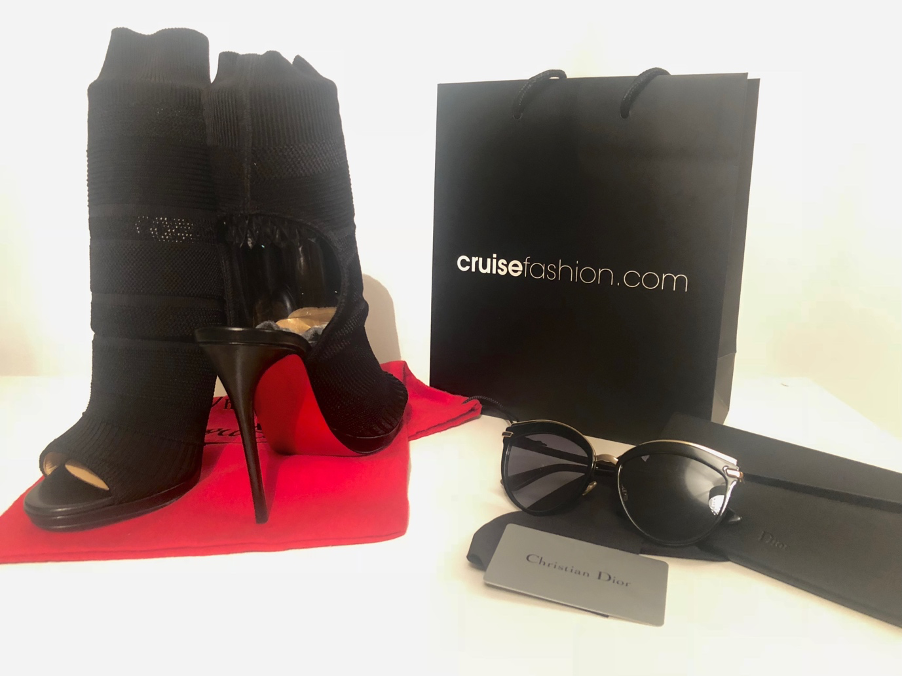 January sales haul of louboutins and sunglasses