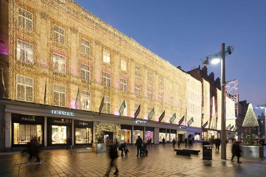 House of Fraser Glasgow Christmas Lights