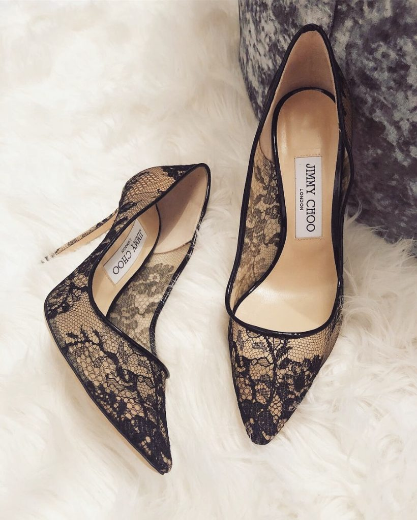 Jimmy Choo Romy Lace heels