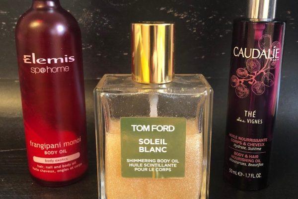 LUXURY BODY OIL REVIEW: CAUDALIE, TOM FORD, ELEMIS