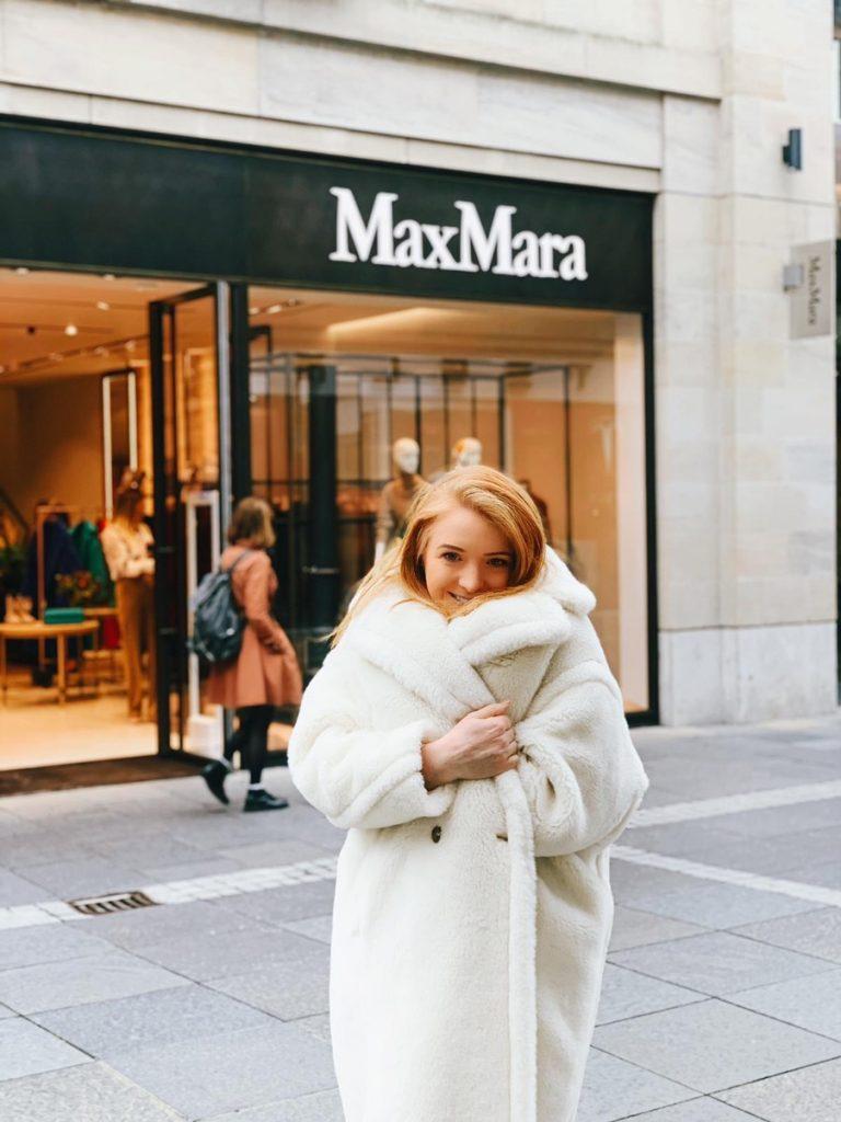 white Max Mara teddy