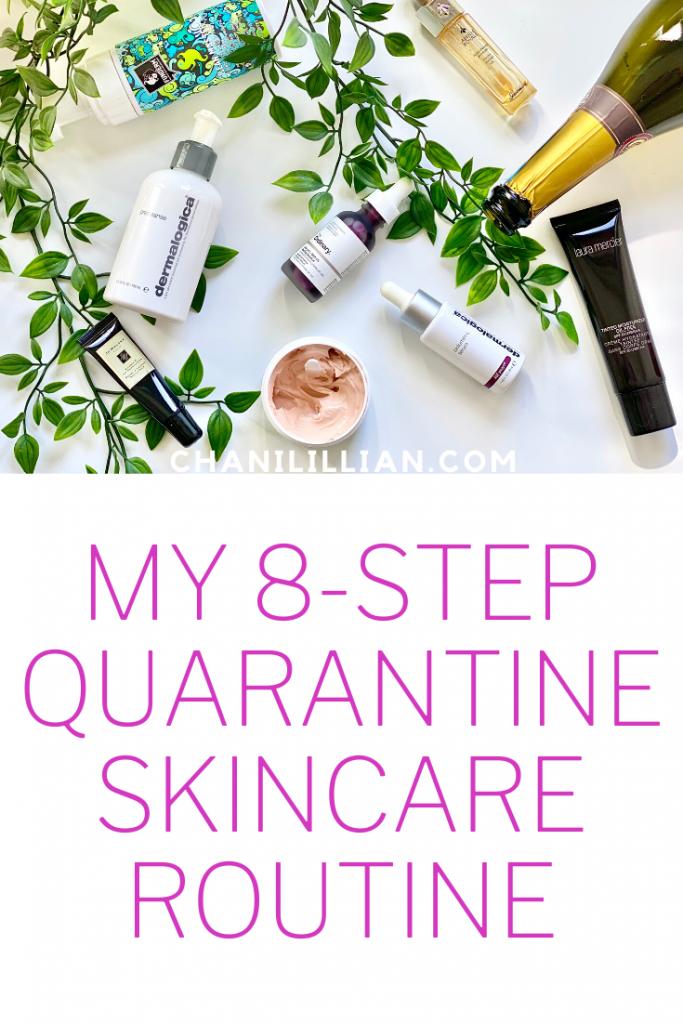 8 step skincare routine pin