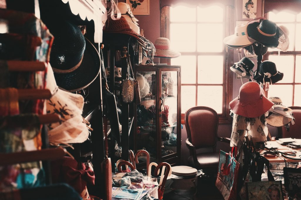 Opposite of fast fashion: a pre-loved vintage store full of treasures