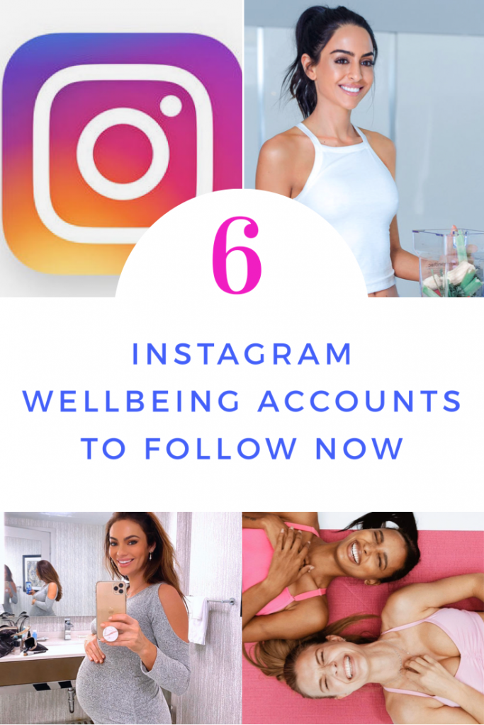 instagram wellbeing accounts pin