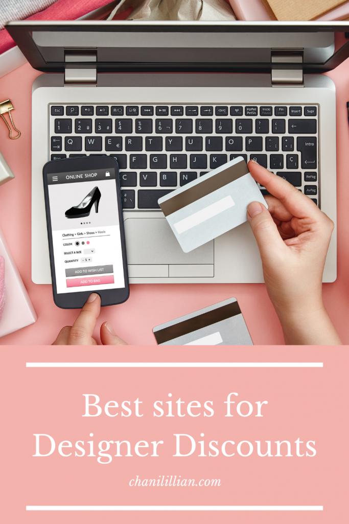 Pinterest image best websites for designer discounts