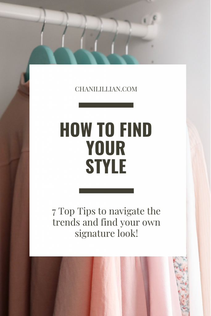 pinterest pin how to find your style